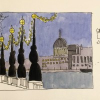 Postcard from St Pauls Cathedral